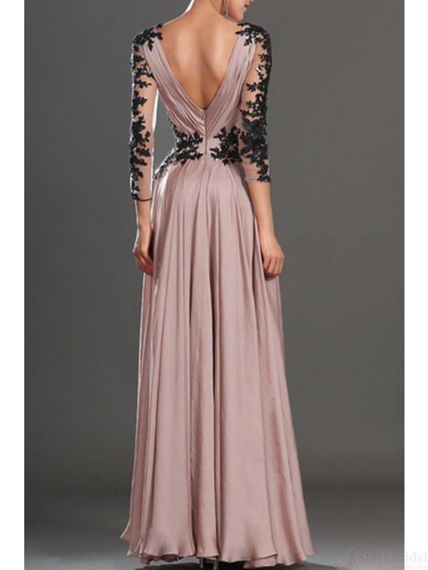 Strapless Long Formal Dress