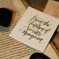 From the Kitchen of Stamp - Custom Handwritten Calligraphy