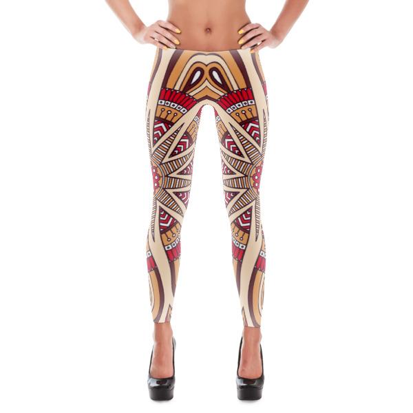 Brown Town 1 Exercise/Yoga Pants Leggings On Storenvy