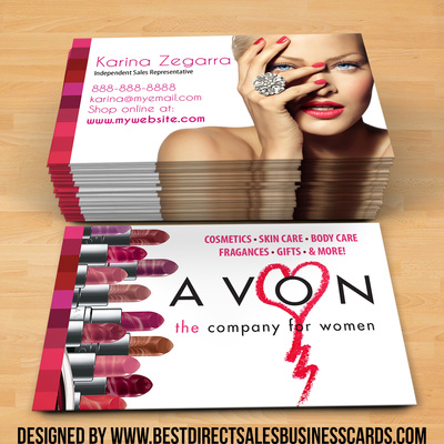 Avon Business Cards style 5 · KZ Creative Services
