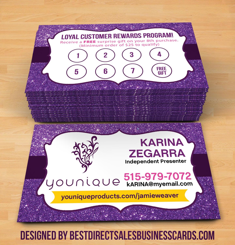 Younique Business Cards - 6 · KZ Creative Services · Online Store ...