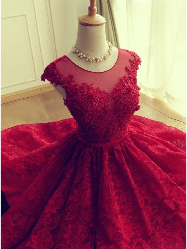 Christmas party dresses red