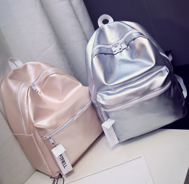 dbc7e498fb4f Pink Silver Patent Backpack · Moooh!! · Online Store Powered by Storenvy