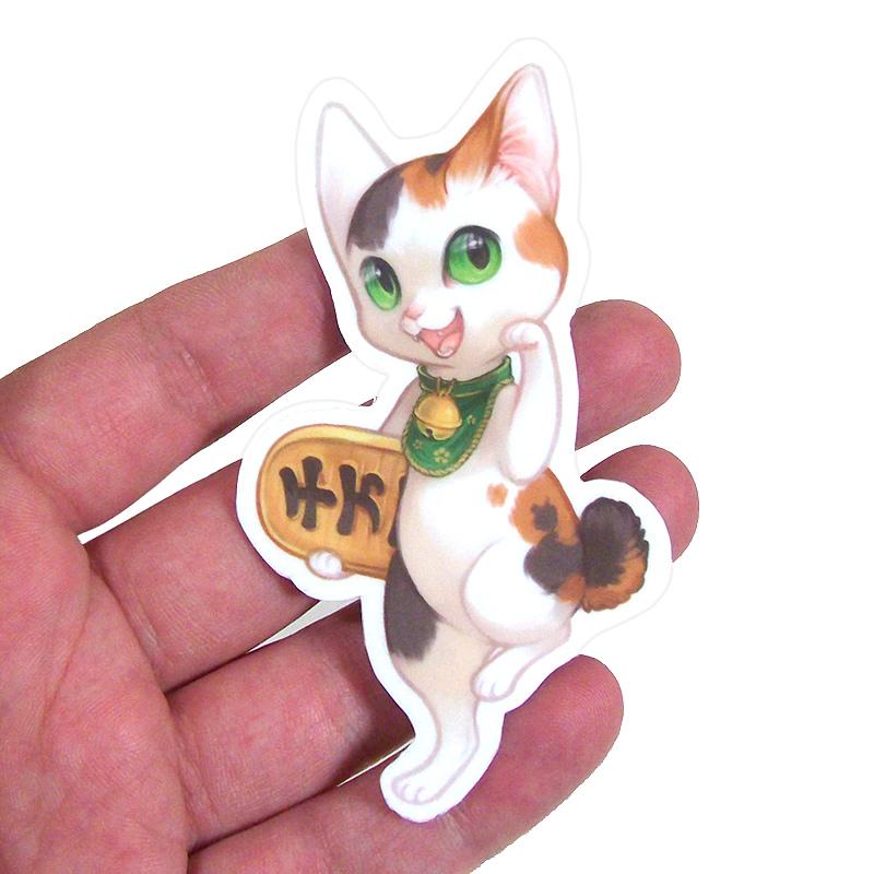 Maneki neko sticker sheet thumbnail 1