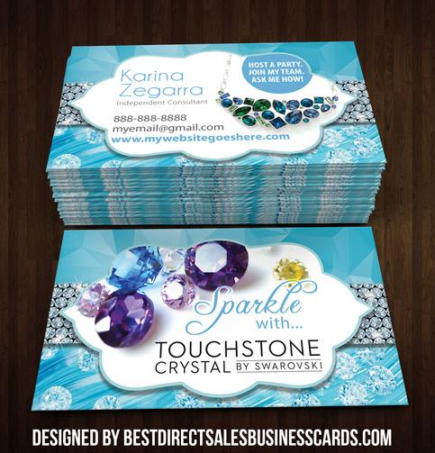 Touchstone Crystal Business Card 3 183 Kz Creative