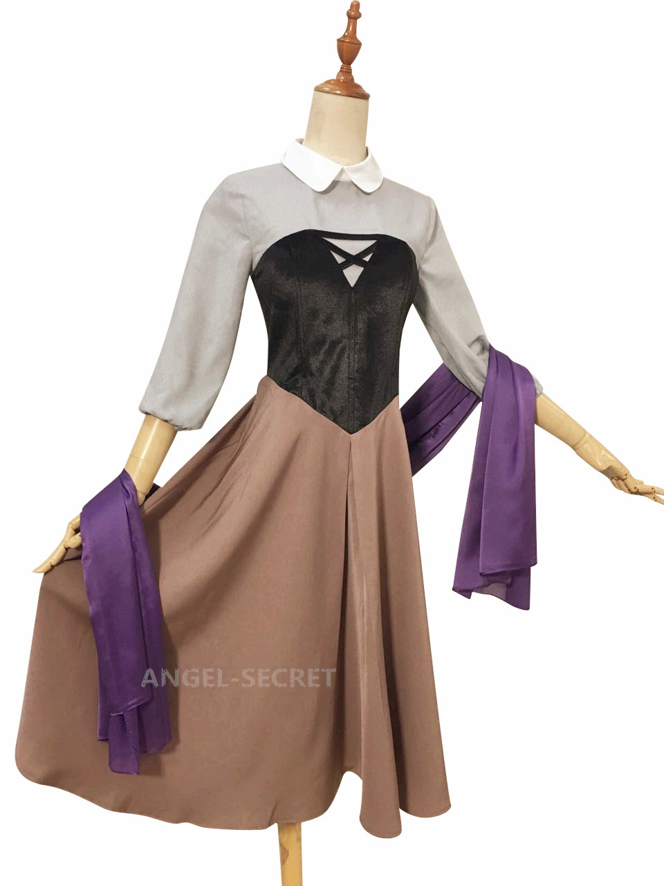 p840 aurora briar rose costume cosplay princess dress