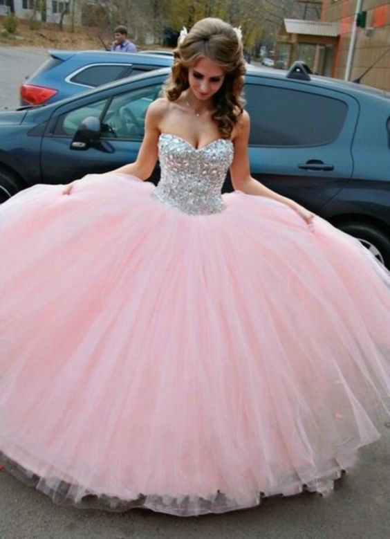 Princess Style Prom Dress Prom Dresses Evening Party Gown Formal ...