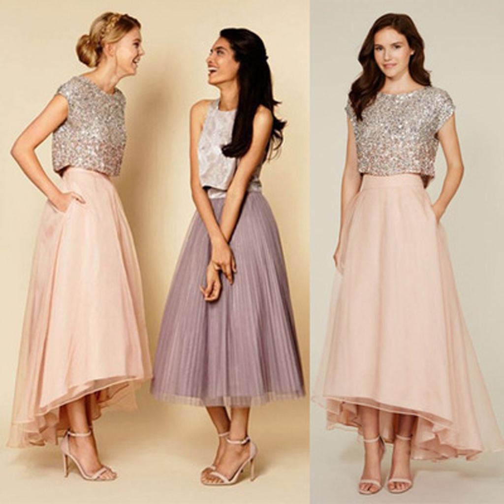 Long prom dresses sequin bridesmaid dresses cap sleeve for Long sleeve sequin wedding dress