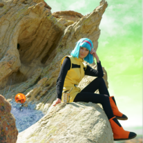 Namek Saga Bulma Cosplay Print medium photo