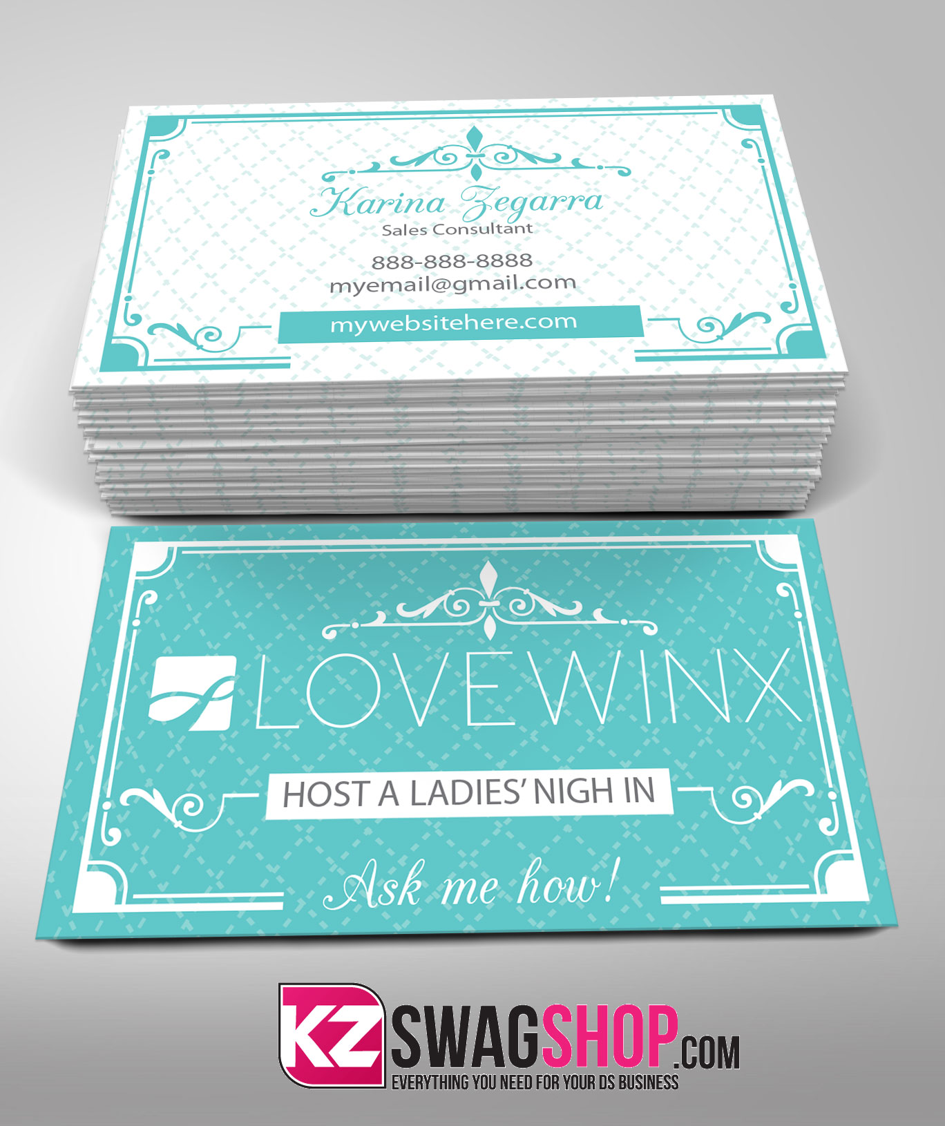 Lovewinx Business Card 1 · KZ Creative Services · line Store