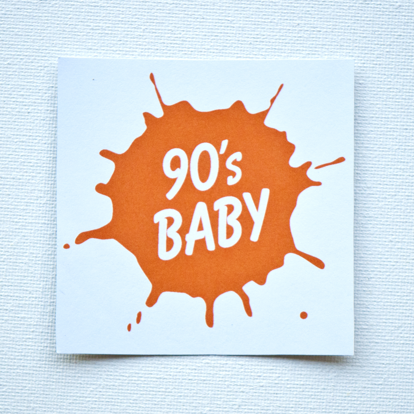 90's Baby Sticker · Broseph · Online Store Powered by Storenvy: brosephyo.storenvy.com/products/2083634-90s-baby-sticker