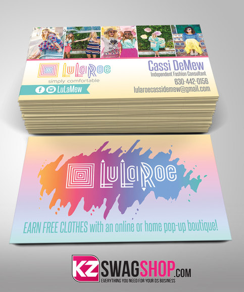 Lularoe Business Cards 1 183 Kz Creative Services 183 Online