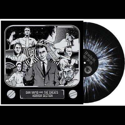 "10"" + cd: dan vapid and the cheats / horror section split"