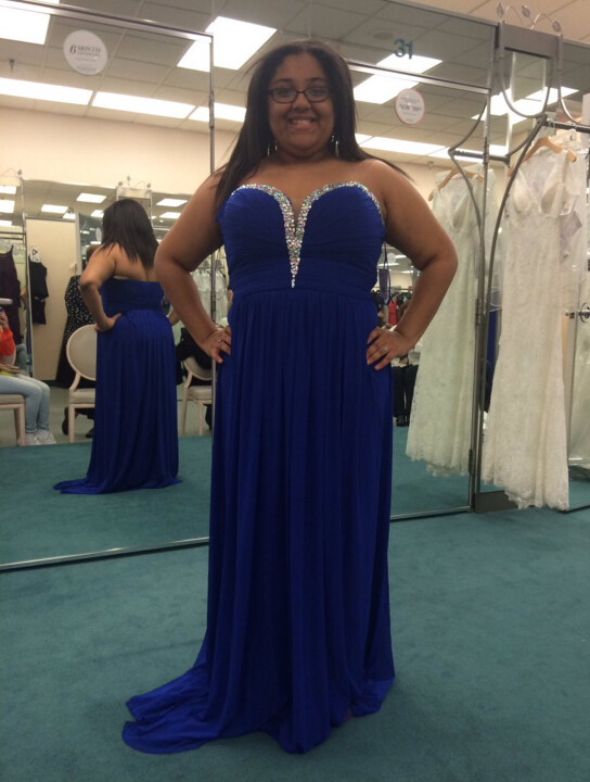 Royal Blue Prom Dress Prom Dresses Evening Party Gown Formal Wear ...