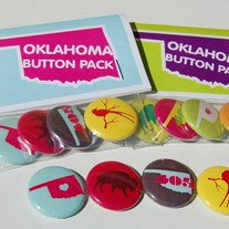 Oklahoma Button Pack