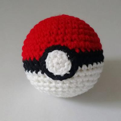 Pokeball Pale Blue Dot Crochet Online Store Powered By Storenvy
