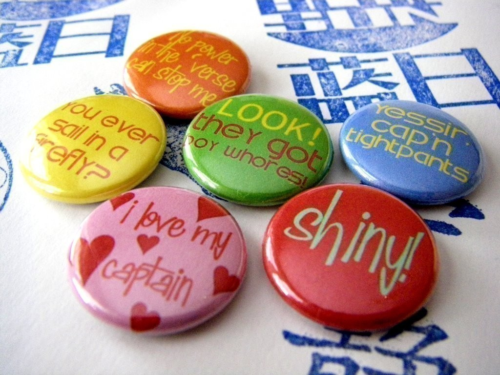 Mechanic Quotes Mechanic Quotes  Six Button Pin Or Magnet Set · Mashatshoppe