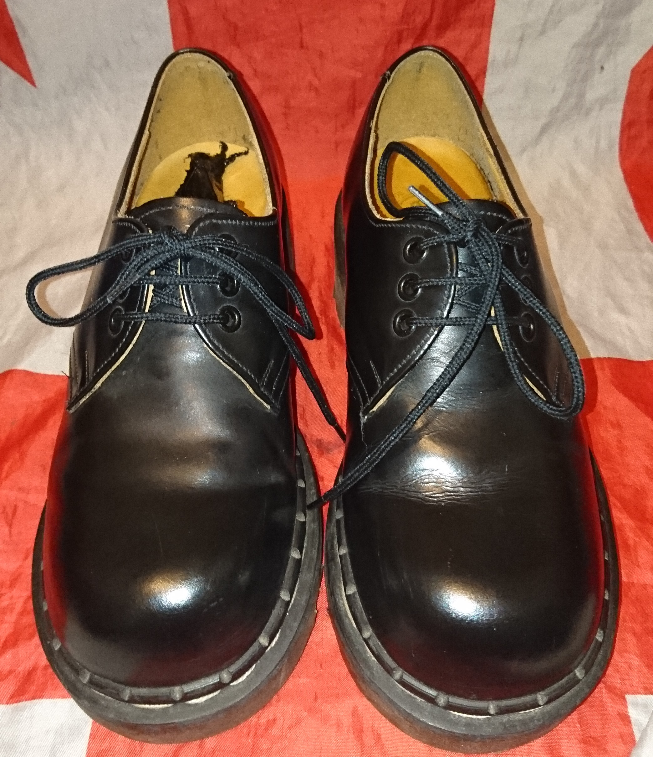 vintage tredair chunky heel shoes dr doc