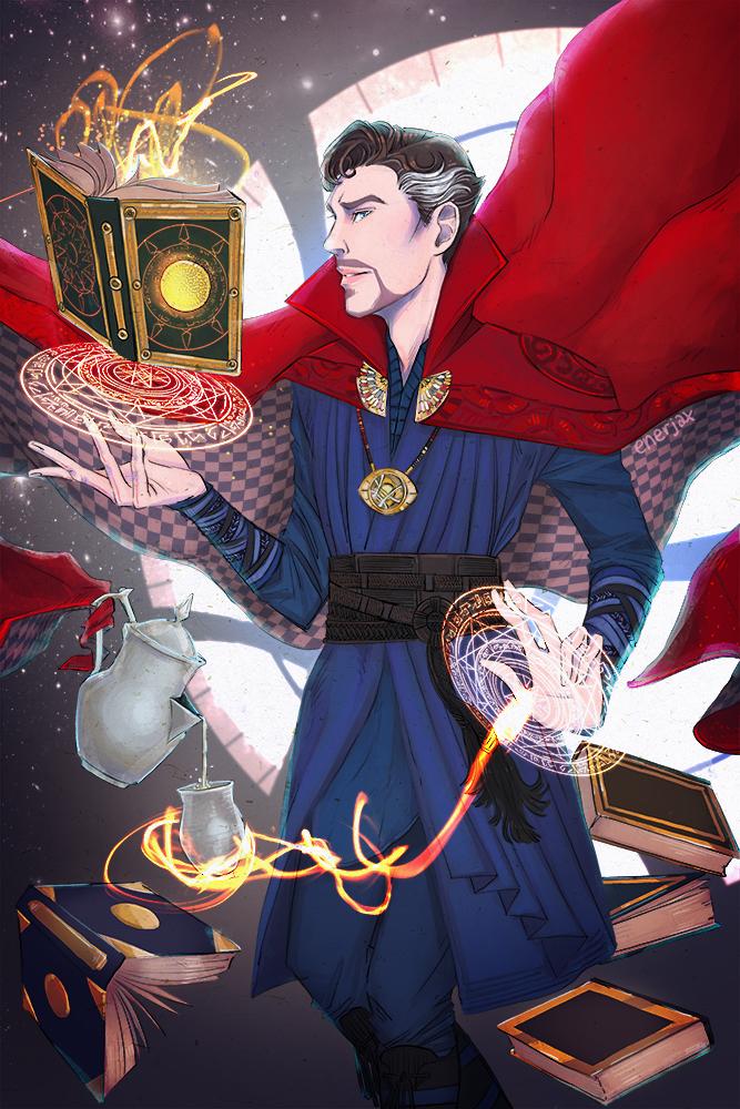 Doctor strange sorcerer supreme mini print