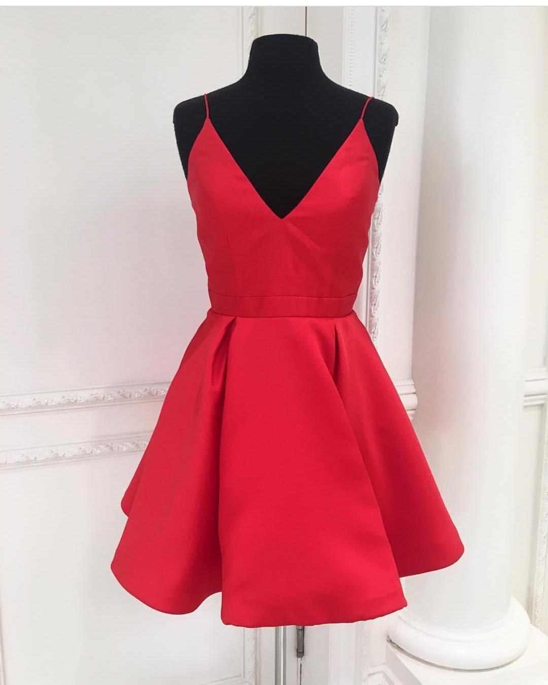 Mini red short prom dress,homecoming dress,cocktail dress · Dreamy ...