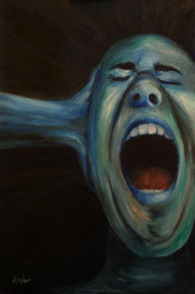 Mighty Scream - Original Painting