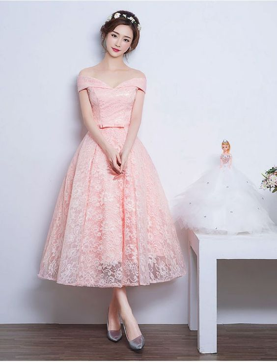 Off-shoulder Prom Dress,New Fashion Prom Dress,Audrey Hepburn ...