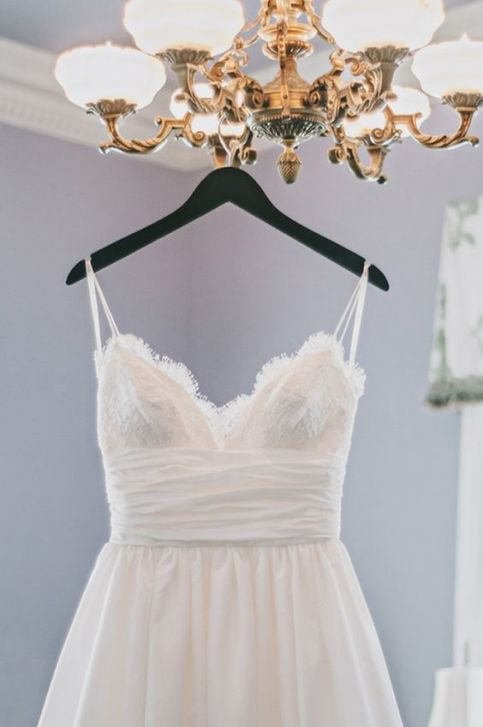 beautiful spaghetti straps wedding dresses,white wedding ...