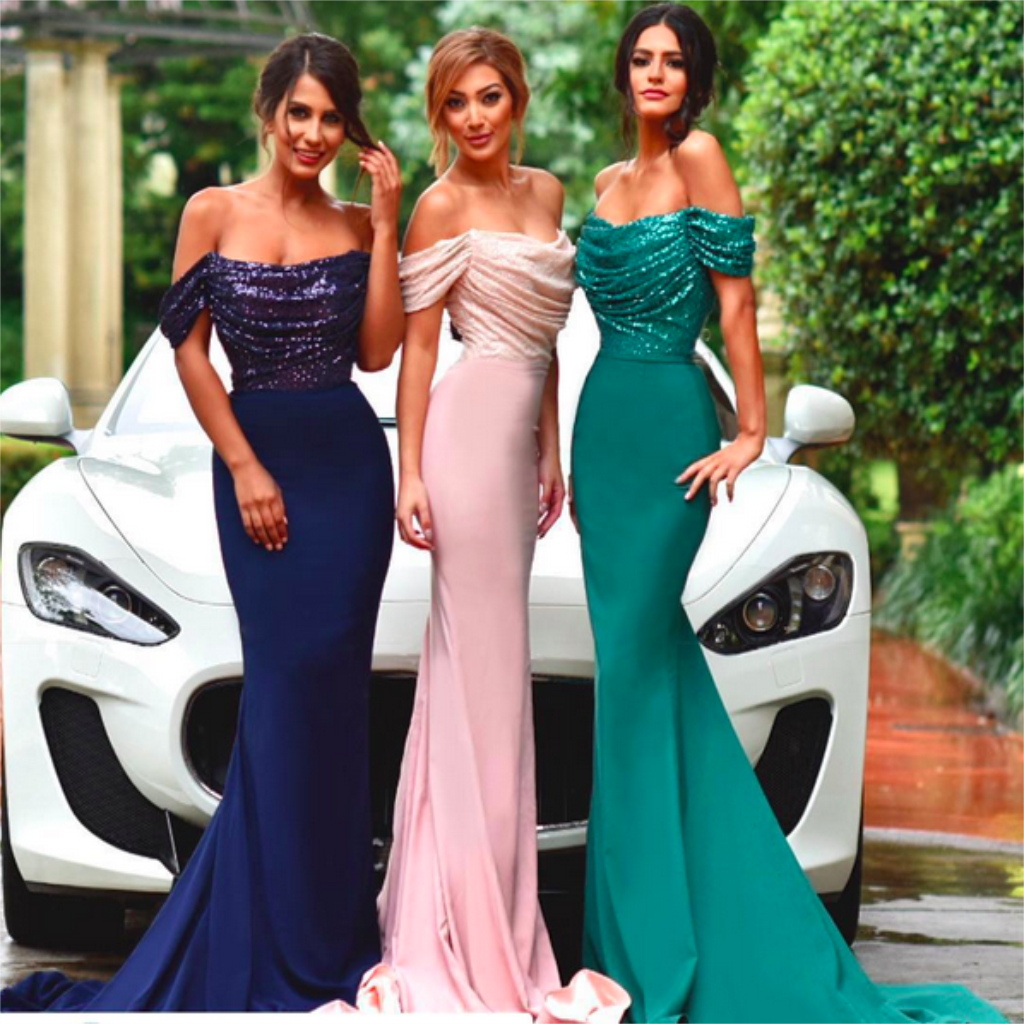 Off shoulder mermaid sequin bridesmaid dresses cheap custom long off shoulder mermaid sequin bridesmaid dresses cheap custom long bridesmaid dresses wedding party dresses ombrellifo Image collections
