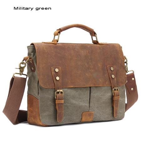 Functional Laptop Briefcase Satchels Shoulder Handbags