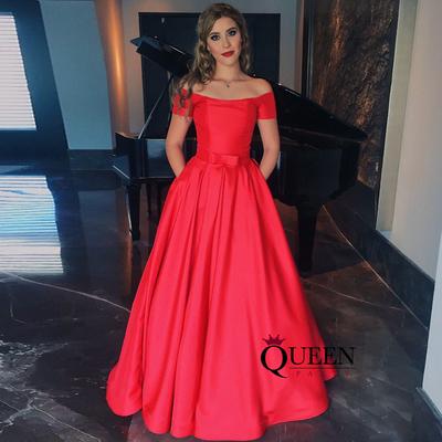 Elegant Dresses Red Ball