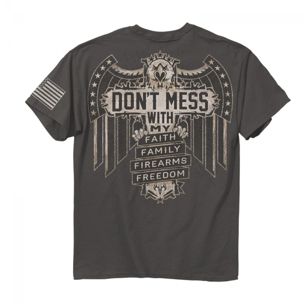 New Officially Licensed Quot Don T Mess With My Faith Family