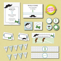 Full Collection - Little Man Printables