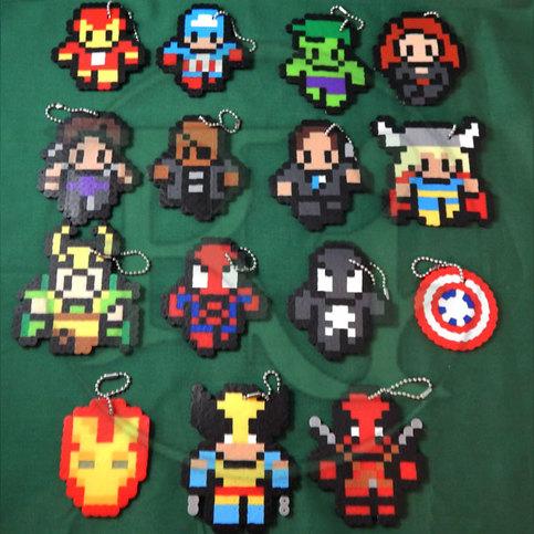 Marvel Characters (keychain)