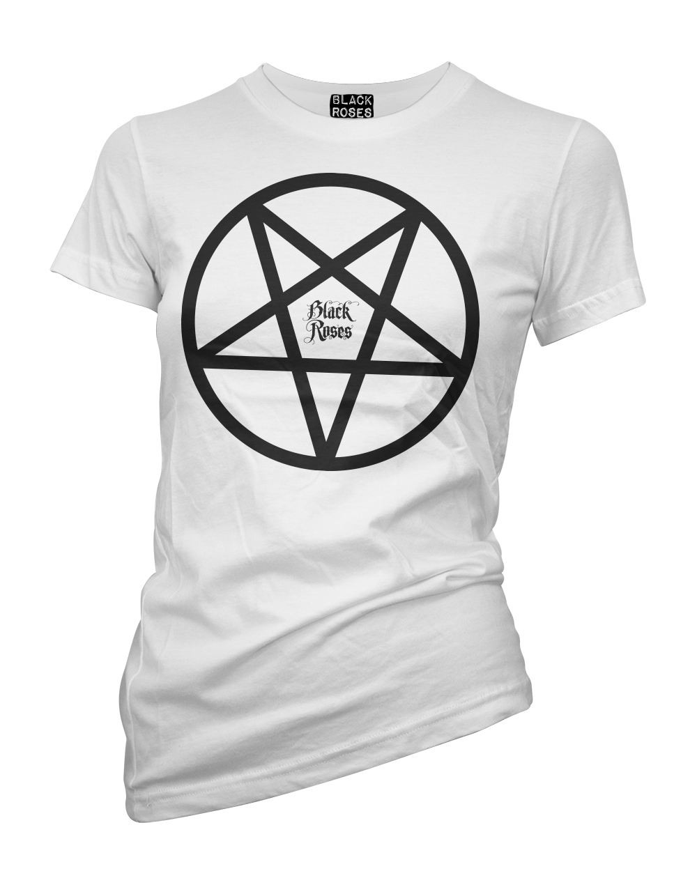Back in black t shirt - Back In Black Pentacle Tee Shirt White