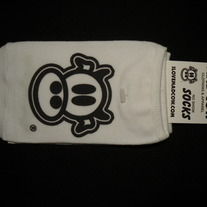 MAD COW LOGO NO SHOW SOCKS