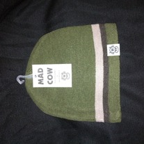 MAD COW BEANIE (GREEN)