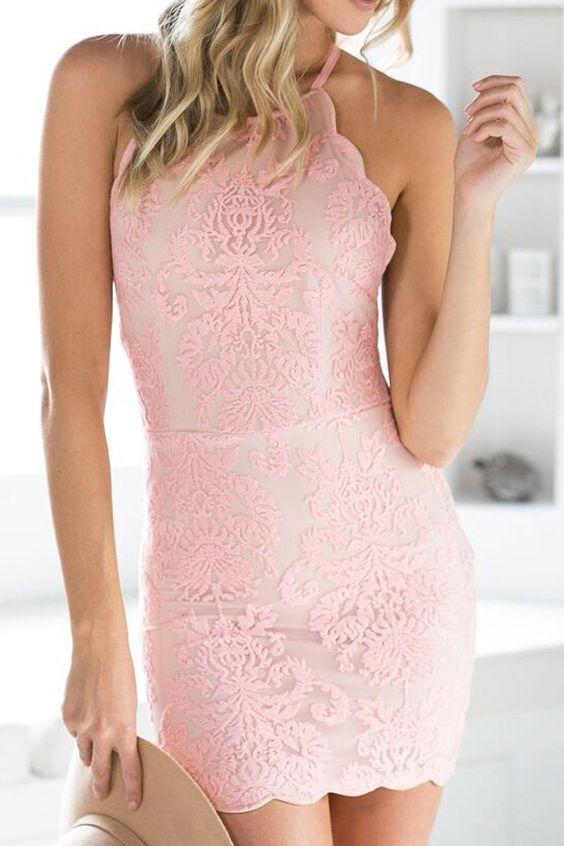 447596984f8 ... Charming Homecoming dress