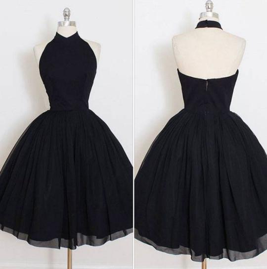 formal dress black short prom dressblack evening dress
