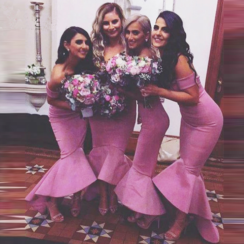 F30 Bridesmaid Dresses,Mermaid Bridesmaid Dresses,Off Shoulder ...