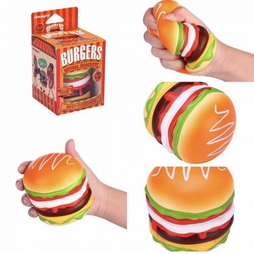 Squishy Burger Mirror : Vlampo Hamburger Triple steak cheese Squishy Burger Charm ? Kawaii Squishy Shop ? Online Store ...