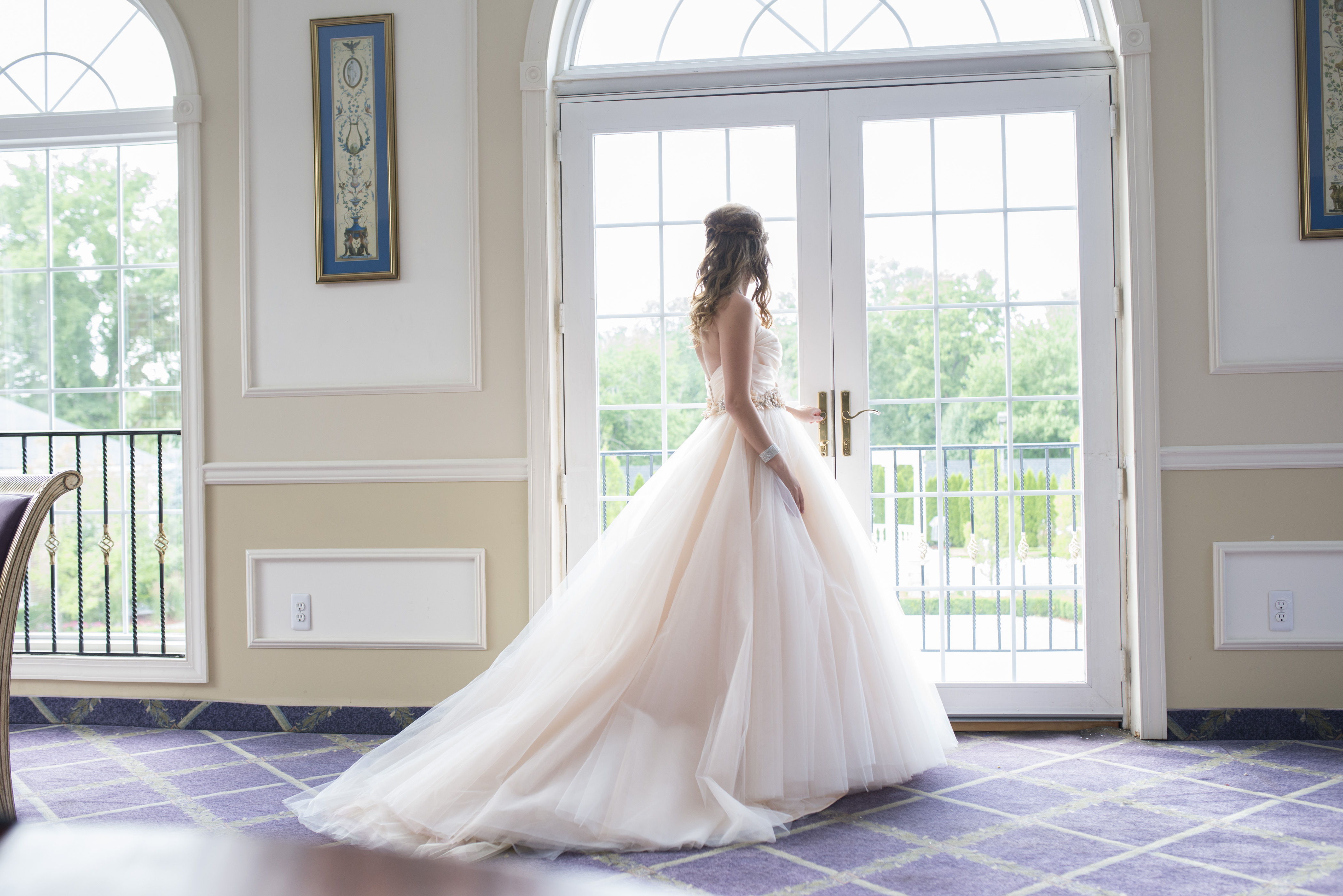 F187 Gorgeous Strapless Long Ball Gown Wedding Dress,Real Photos ...