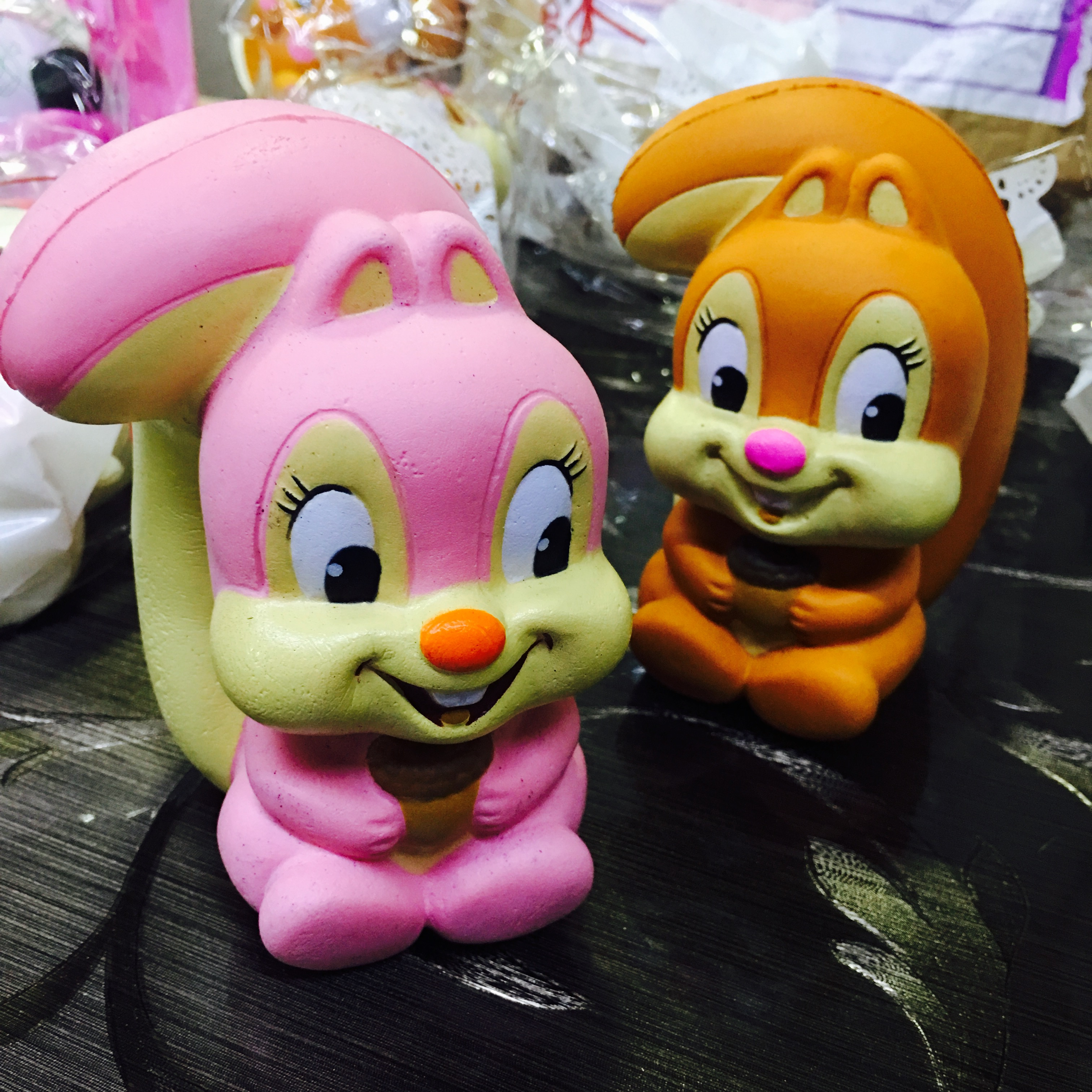 Massive Squishy Collection : ~SquishyStuff~ 13cm Huge Cute Squirrel Squishy Mascot Online Store Powered by Storenvy