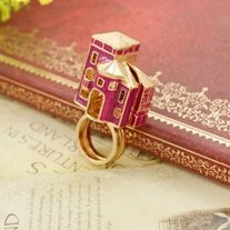 Fashion-hot-sale-charming-individual-openable-red-house-antique-ring-double-ring-15-pcs-lot_medium