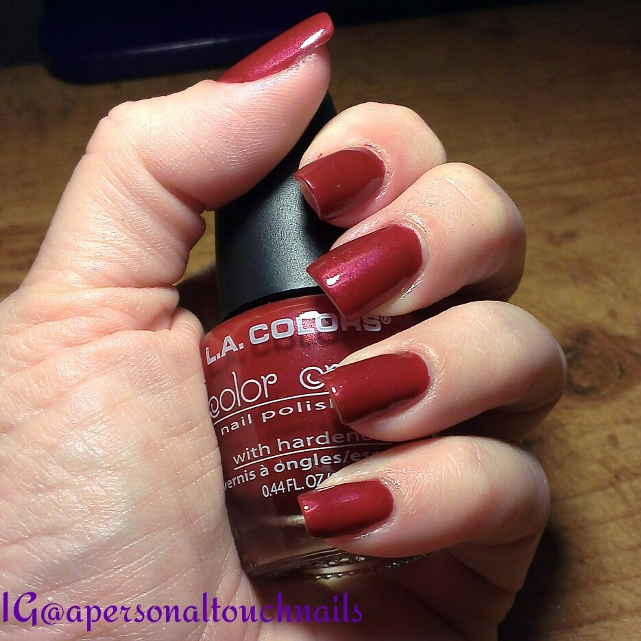 L.A. Colors \'Cayenne Pepper\' Color Craze Nail Polish on Storenvy