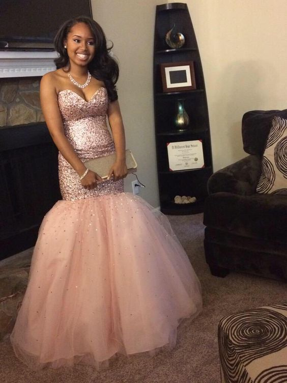 Sweetheart Prom Dress,Mermaid Prom Dress with Tulle,MB 225 · Ms ...