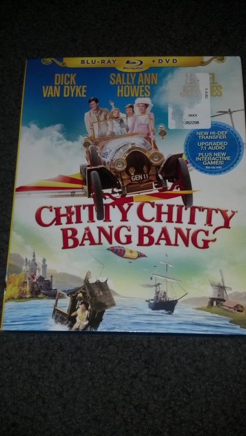chitty chitty bang bang blu dvd combo pack on storenvy