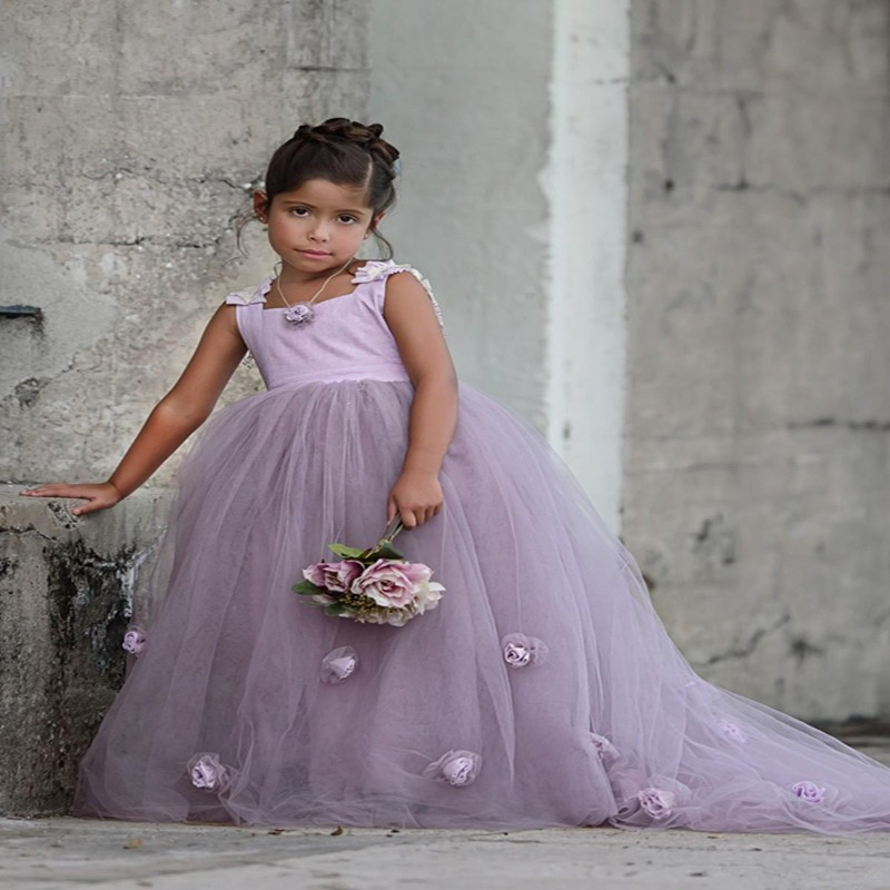 Flower girl dress purple flower girl dress girls first communion flower girl dress purple flower girl dress girls first communion dress junior bridesmaid mightylinksfo
