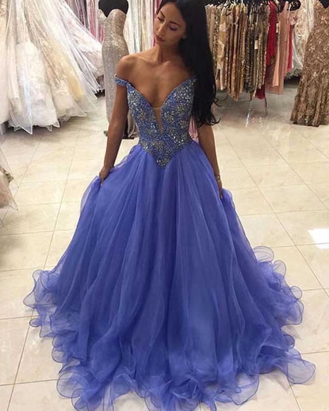 Princess Style Prom Dress, Prom Dresses,Graduation Party Dresses ...
