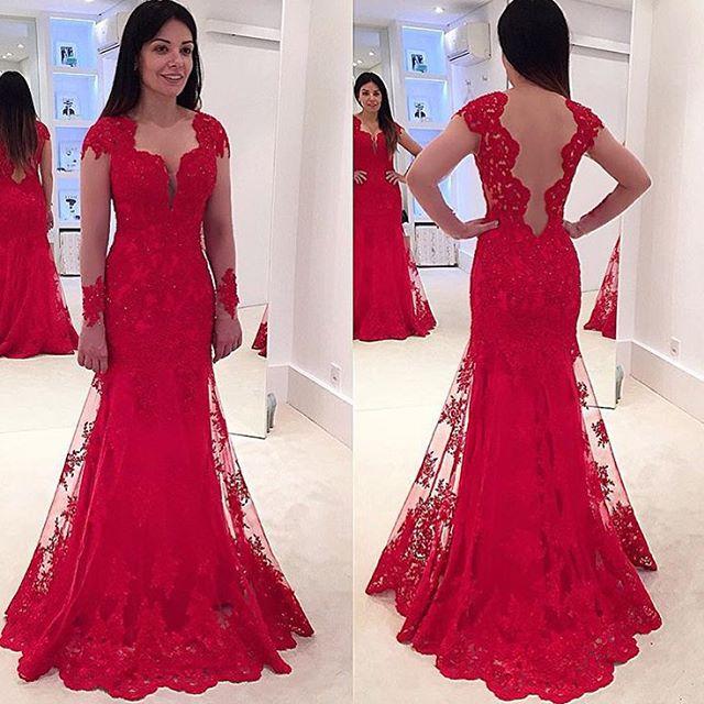 Lace Prom Dress, Prom Dresses,Graduation Party Dresses, Prom Dresses ...