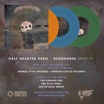 "NEW! Split 7"" w/ Half Hearted Hero"